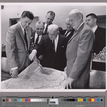 Presentation to Governor Ronald Reagan of California of $7 million for Pepperwood ...