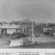 1886 Fire in Tulare, Calif