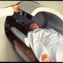 Demonstration of Diasonics MRI scanner