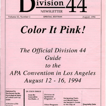 Division 44 Newsletter, Volume 10, Number 2