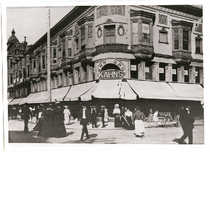 Kahn Brothers department store, northeast corner of Washington and 12th Streets