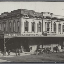 Farmers Union Building San Jose, 1874