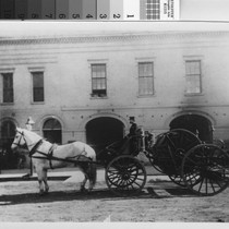 1896 Fire Department Horse Cart
