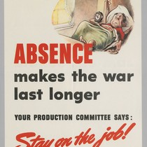 Absence makes the war last longer: Your production committee says: Stay on ...