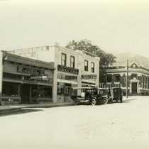 Main Street (now Broadway), Fairfax, Marin County, California, circa 1922 [photograph]