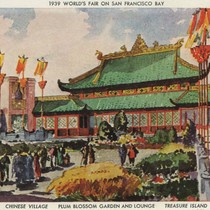 1939 World's Fair on San Francisco Bay - Chinese Village, Plum Blossom ...