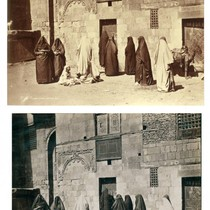 Femmes Arabes Allant au Bain (Arab women going to the baths)