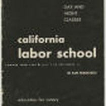 California Labor School 1945 summer term catalog