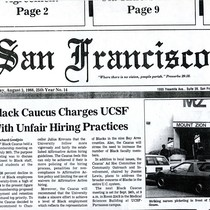 Black Caucus charges UCSF with unfair hiring practices