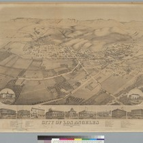 City of Los Angeles, Los Angeles County, Cal[ifornia] 1871