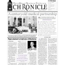 USC chronicle, vol. 15, no. 10 (1995 Oct. 30)