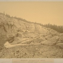 Boston Hydraulic Mine, Nevada County, California
