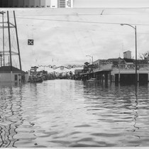 Photograph of 1955 Flood in Yuba City (Calif.)