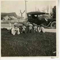 In Front of Maxines San Luis Obispo Apr. 3, 1918 [1]
