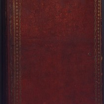 Williams notebook, cover