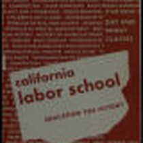 California Labor School 1945 winter term catalog