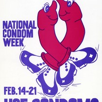 National Condom Week poster