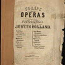 20 Choice Melodies from Operas Arranged for the Violin & Guitar by ...