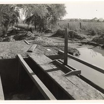Building an irrigation canal