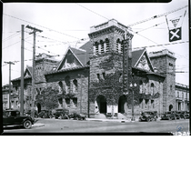 First Baptist Church, northwest corner of Telegraph Avenue and 22nd Street, Oakland, ...