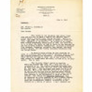 Letter from George E. Farrand to George A. Dockweiler, July 6, 1943