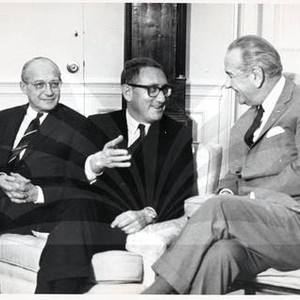 Henry Kissinger, Lyndon B. Johnson, and Walt W. Rostow