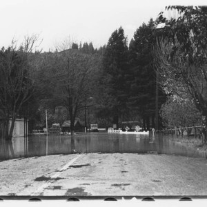 River Road during the flood of 1937