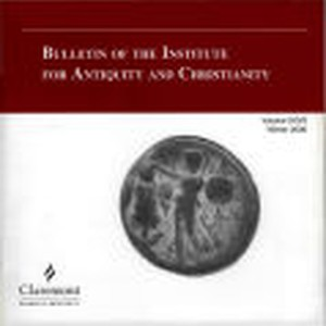 Bulletin of the Institute for Antiquity and Christianity, Volume XXVII, Winter 2000