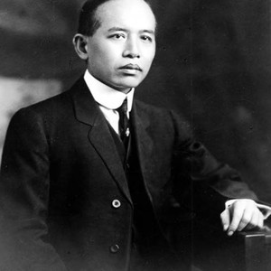 Portrait of a middle-aged Chin Fong