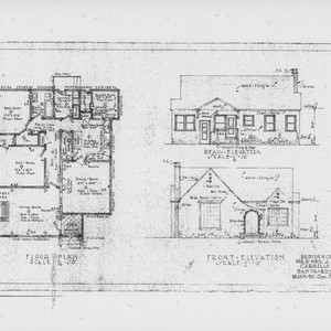 Calisphere architectural drawings for a residence on carrillo architectural drawings for a residence on carrillo street santa rosa california prepared malvernweather Choice Image