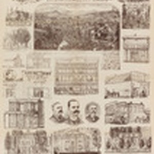 "Supplement to S.F. ""City Argus,"" Saturday, Nov. 28, 1887, containing sketches of ..."