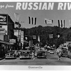 Greetings from Russian River, Guerneville