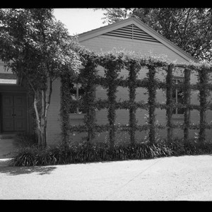 Haggerty, Patrick S., residence. Trellis and Landscaping
