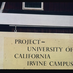 Project sign at Urbanus Square