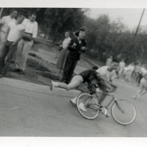 Bicycle race, Harvey Mudd College