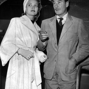 Flynn and wife Patrice Wymore
