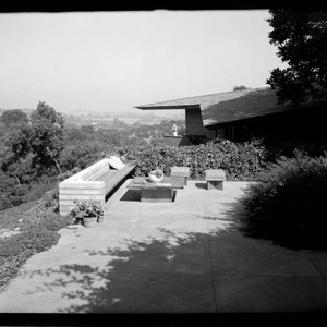 Bartholomew, Mr. and Mrs. M. W., residence. Exterior and Outdoor living space