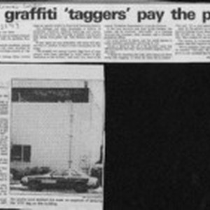 How graffiti 'taggers' pay the price