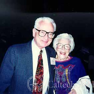 Murray Gell-Mann and Arrola DuBridge