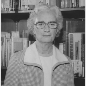 Portrait of Frances G. Murphy, Assistant Director of the Library, Santa Rosa