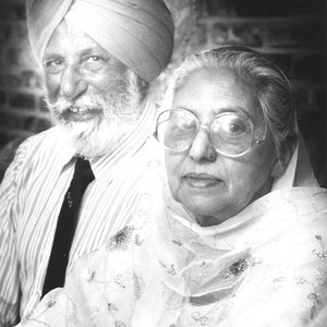 Hari Singh Everest and Wife Portrait, Old