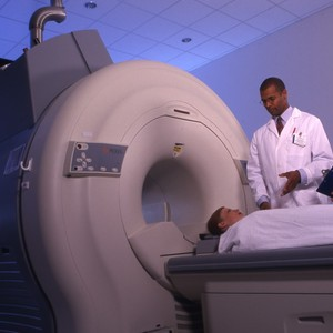 MRI Patient and Tech