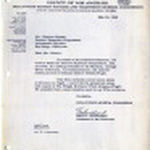 Letter [from] Max E. Goodland [to] Charles Newton, General Dynamics Corporation, Astronautic ...