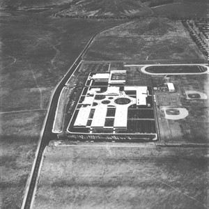 Newbury Park High School aerial, 1968