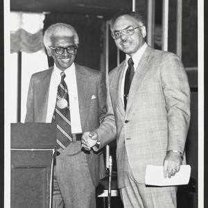 Stephen A. Johns and Ivan J. Houston, 1974 Leaders Roundtable