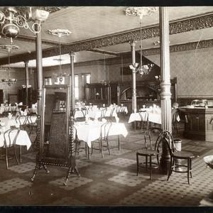 Calisphere: Oakwood Hotel Dining Room