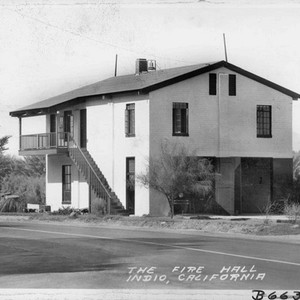 The Fire Hall, Indio, California