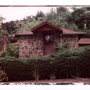 Calisphere Stone Building And Wood Frame House At 100 Valparaiso - 100-wood-and-stone-house