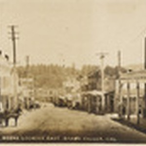 Main St. scene looking east Grass Valley, Cal