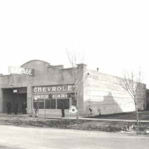 Stockton - Streets - c.1930 - 1939: Garage, Chevrolet Used Cars, Red ...
